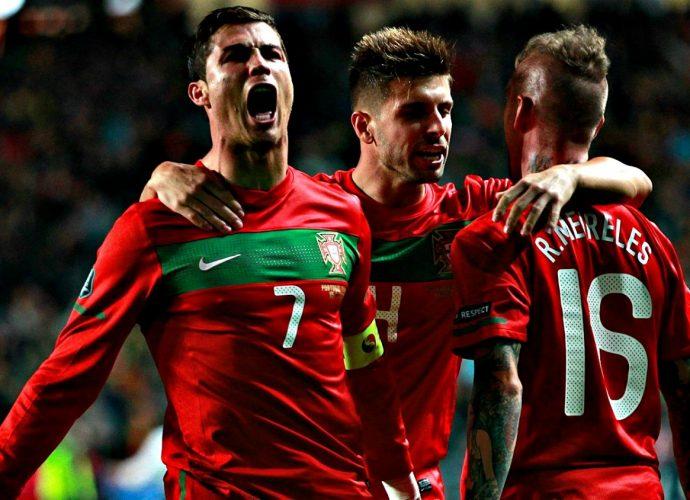 Cristiano Ronaldo nel Portogallo