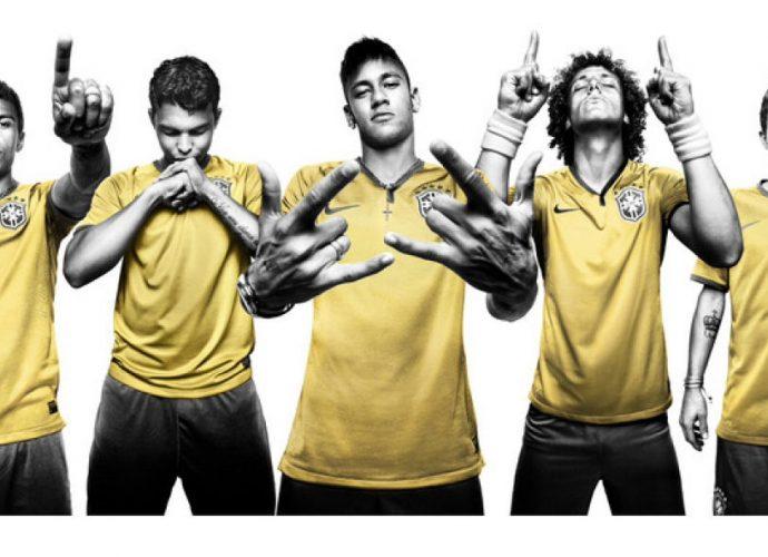 La maglia del Brasile per il mondiale
