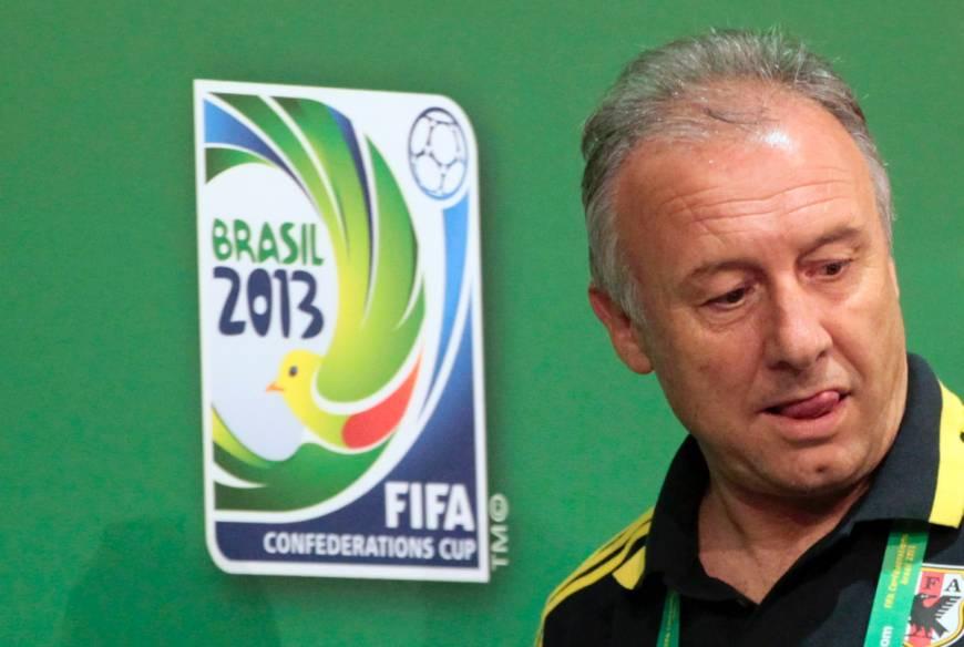 Zaccheroni con il logo di Brasile