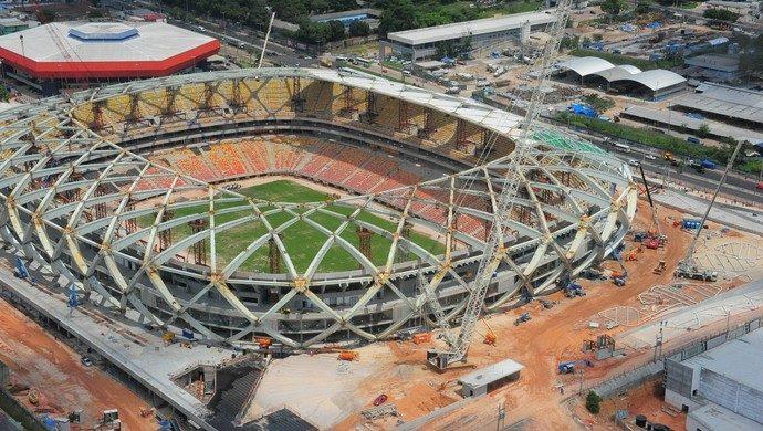 La foto dello stadio Manaus