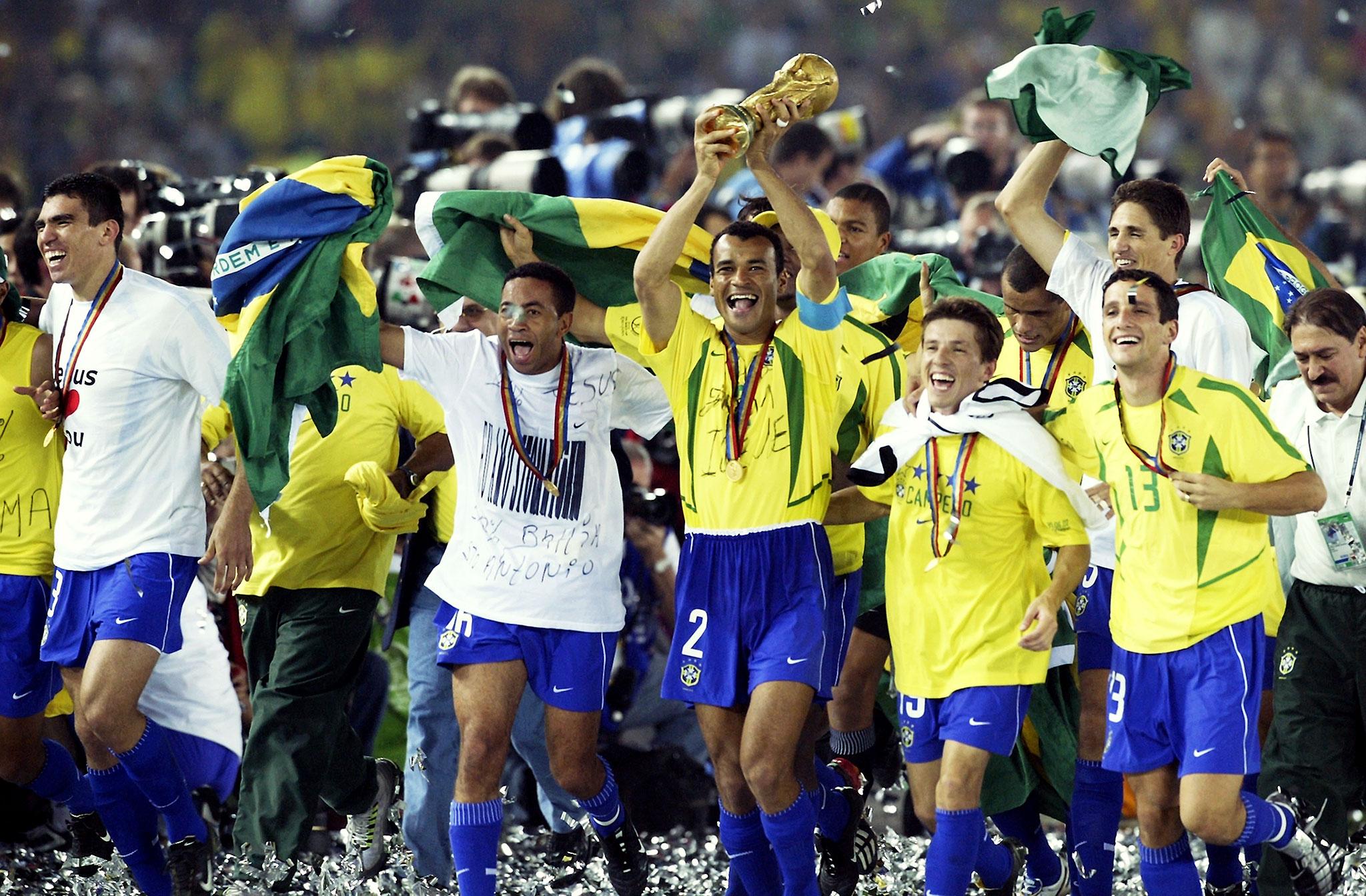 Brasile vincitore nel 2002