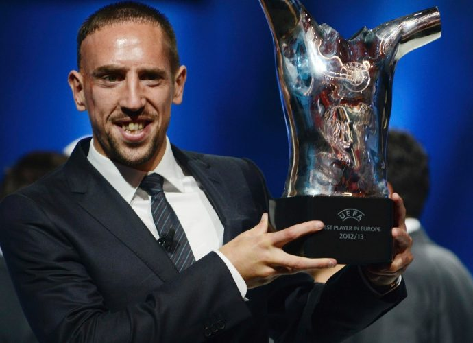 Ribery UEFA Best Player in Europa