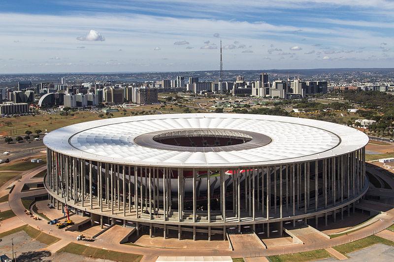Stadio Nazionale a Brasilia