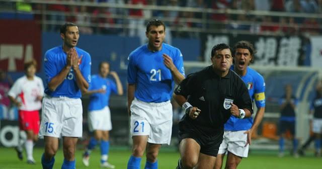 Moreno, l'arbitro di Italia - Corea del Sud