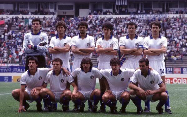Italia in Messico nel 1986