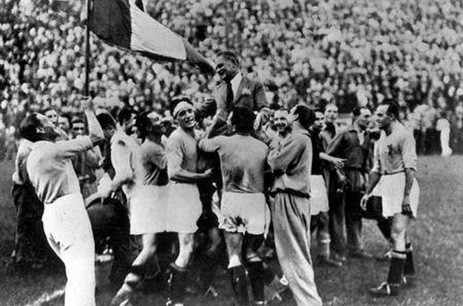 Formazione Italia nel 1934
