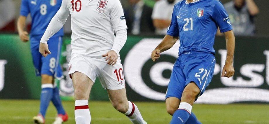 Pirlo e Rooney