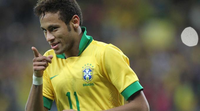 Neymar con i carioca