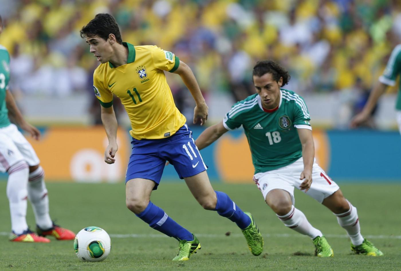 Oscar in Brasile - Messico