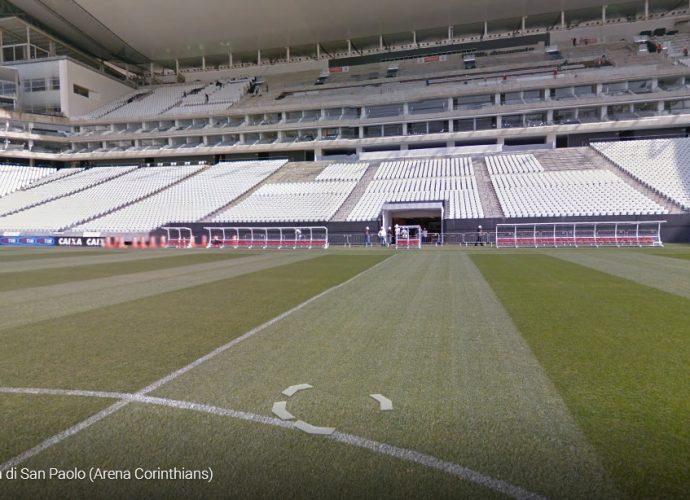 Lo stadio Itaquera