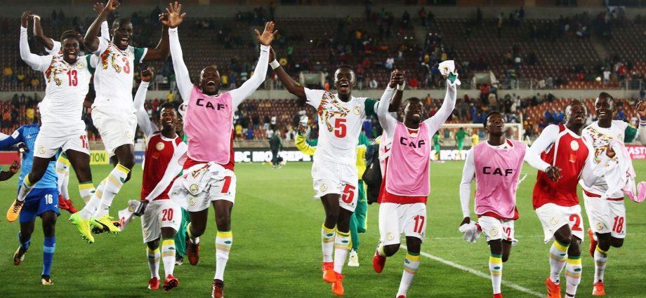 La squadra del Senegal