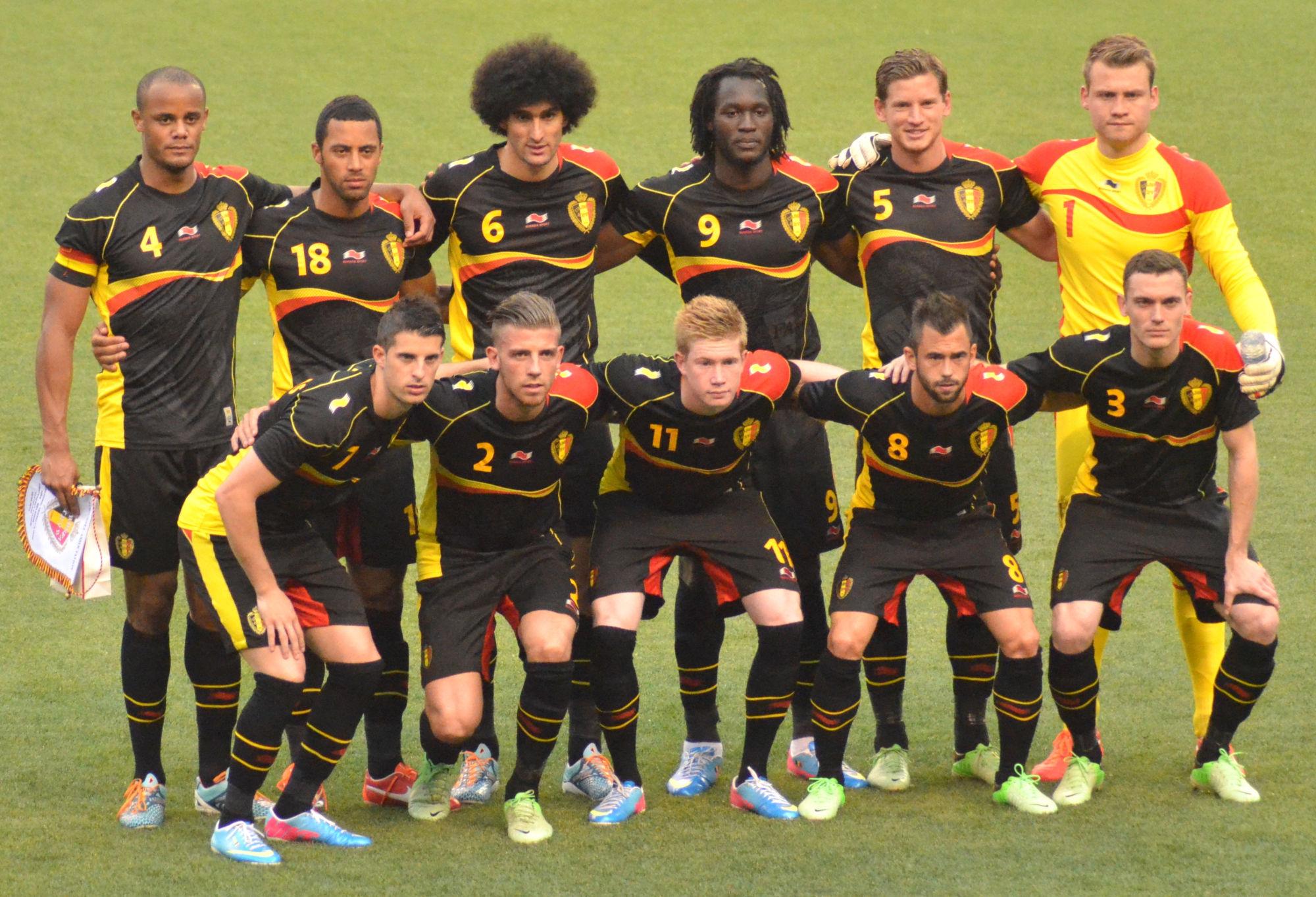 La nazionale del Belgio