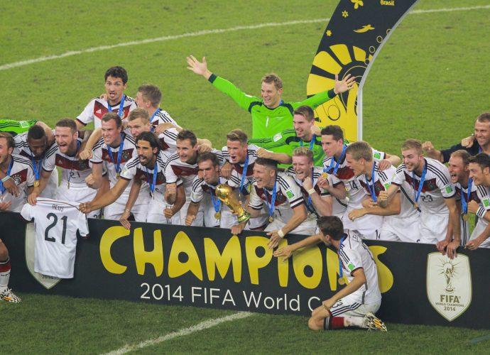 Germania campione del Mondiale 2014