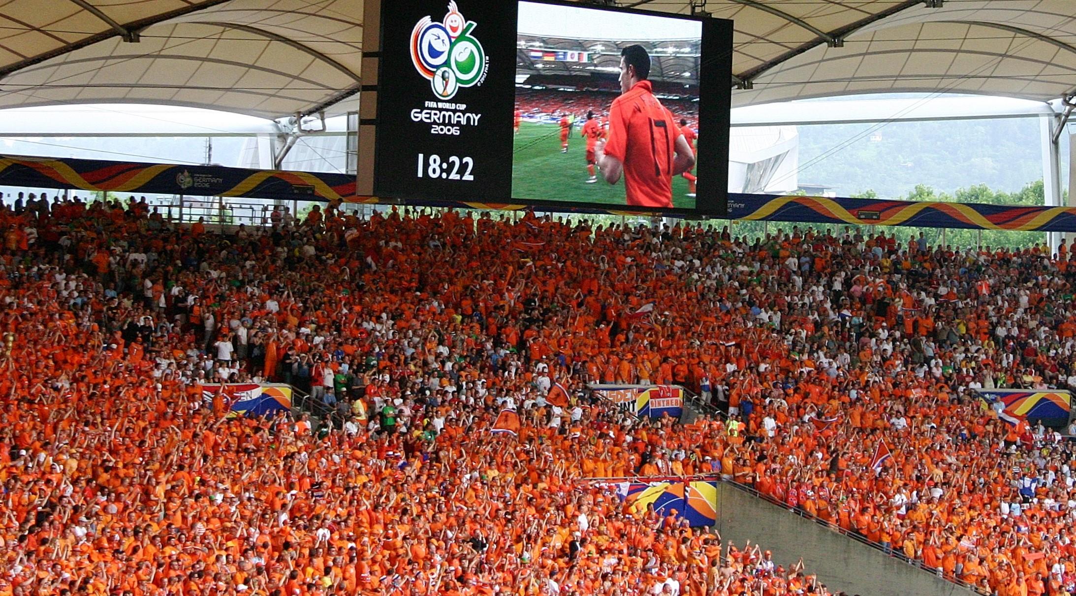 Tifosi dell'Olanda