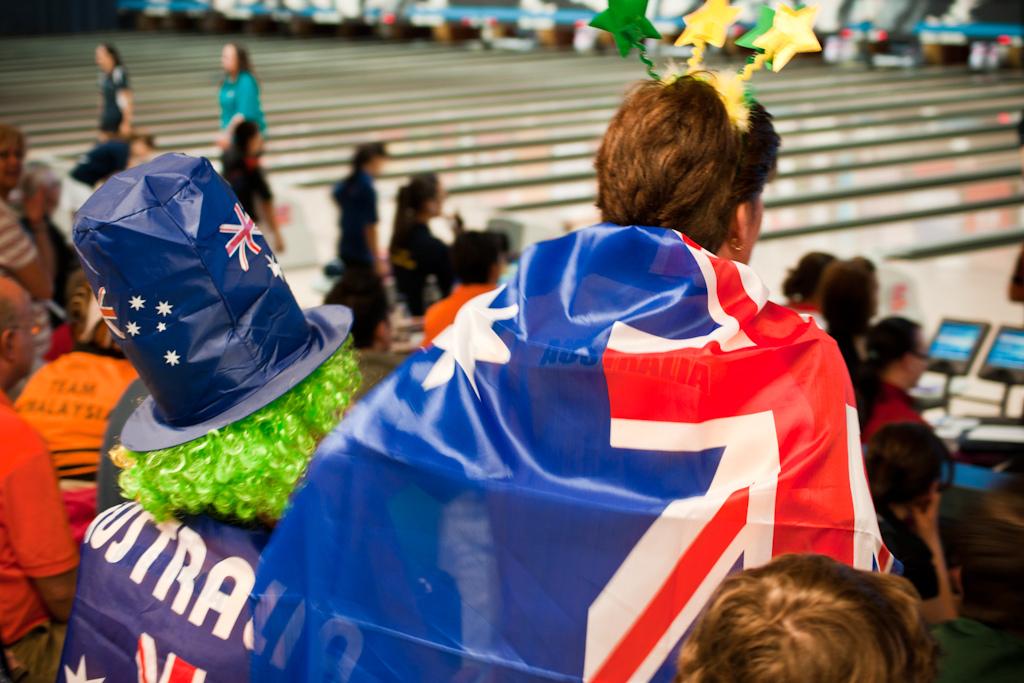 Tifosi dell'Australia