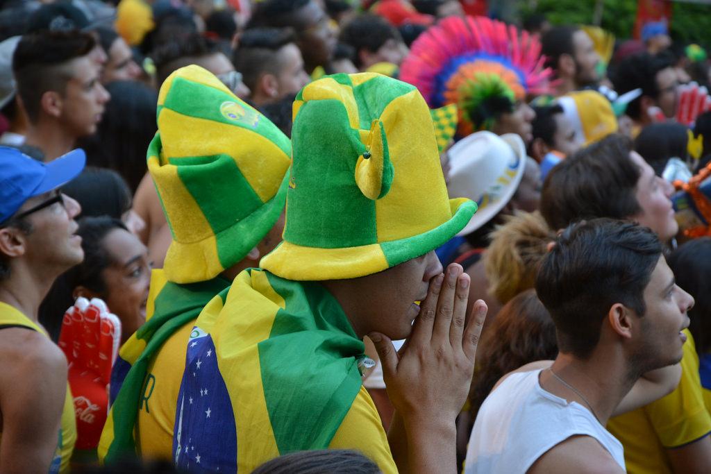 Tifosi del Brasile