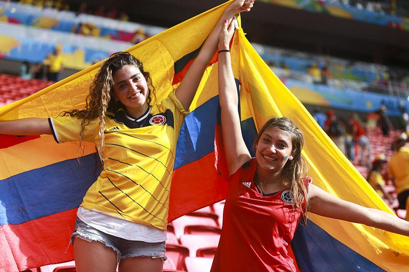 Tifose della Colombia