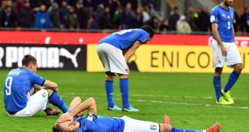 Italia e altre escluse dal Mondiale