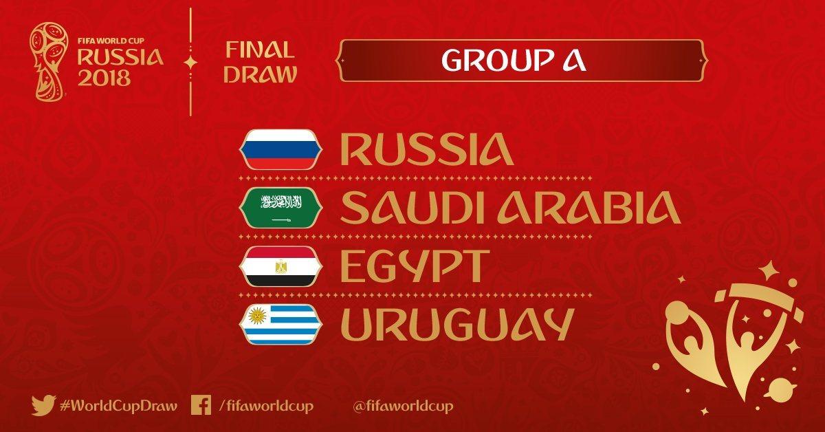 Gruppo A di Russia 2018