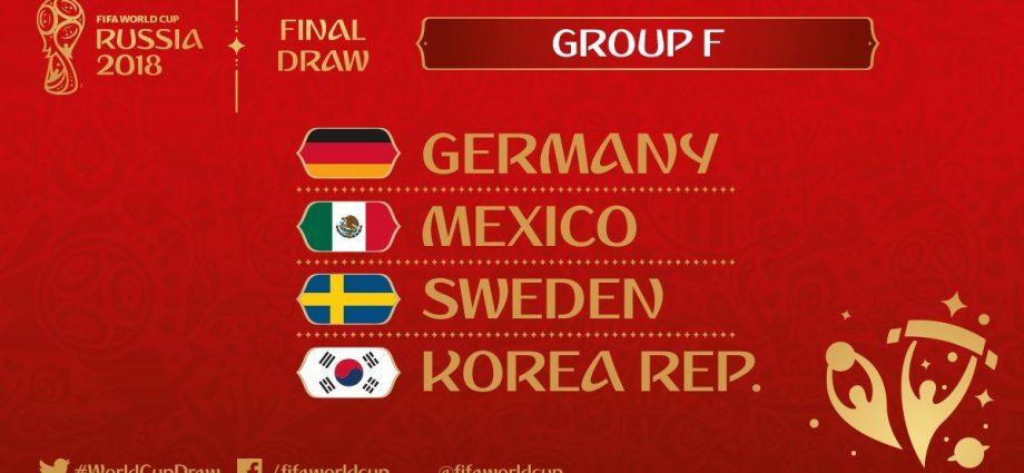 Gruppo F di Russia 2018