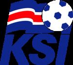 Logo della nazionale islandese