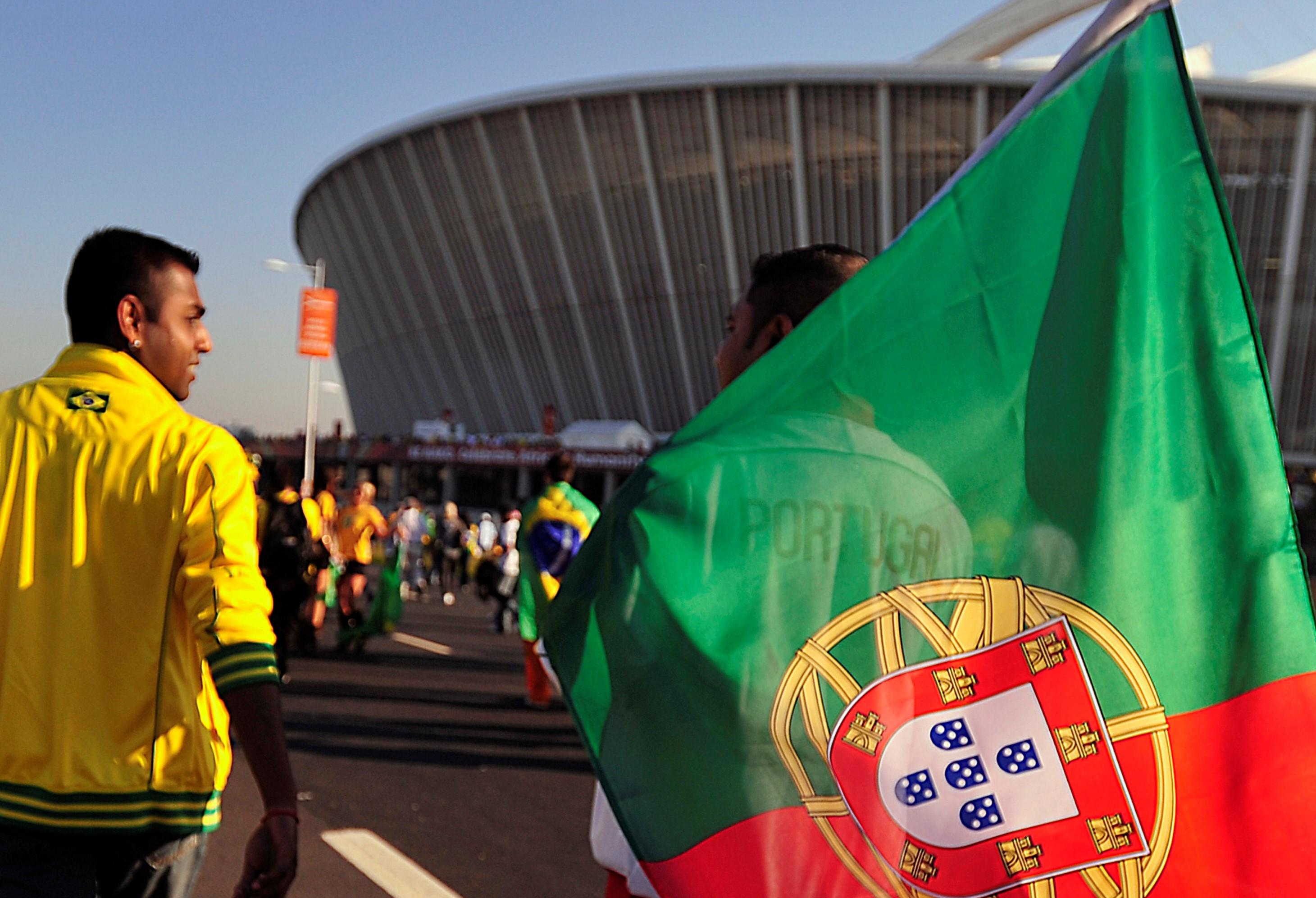 Tifosi del Portogallo
