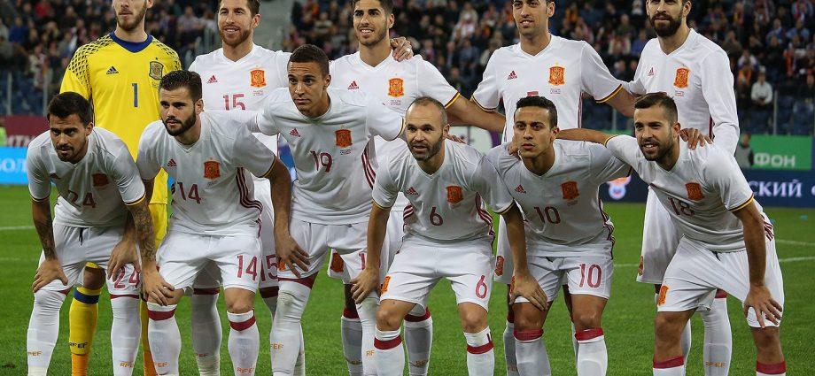 Team Spagna 2018