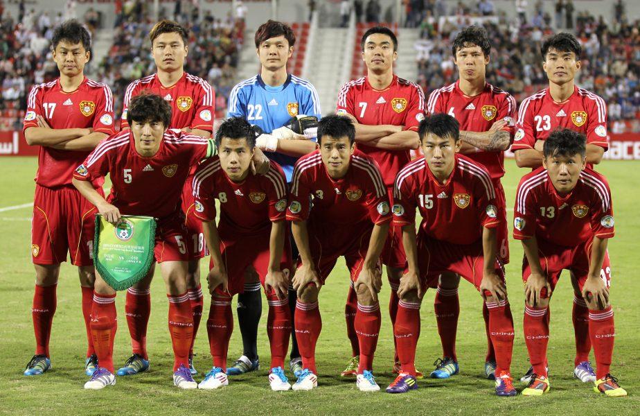 Nazionale cinese nel 2011