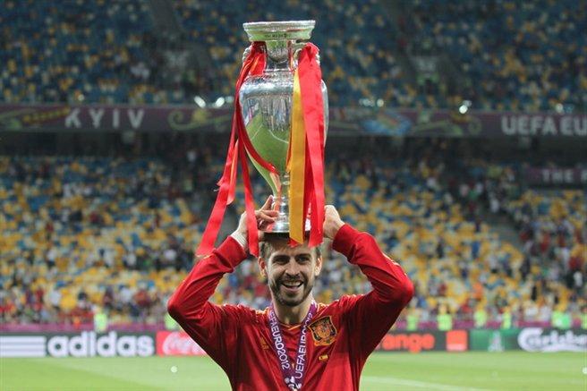 Gerard Piqué Euro 2012
