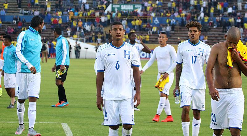 Calciatori dell'Honduras