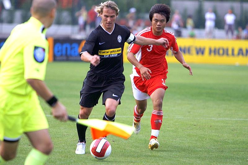 Pavel Nedved, giocatore rappresentativo della Repubblica Ceca