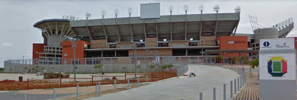 Peter Mokaba Stadium di Polokwane a Gennaio 2010