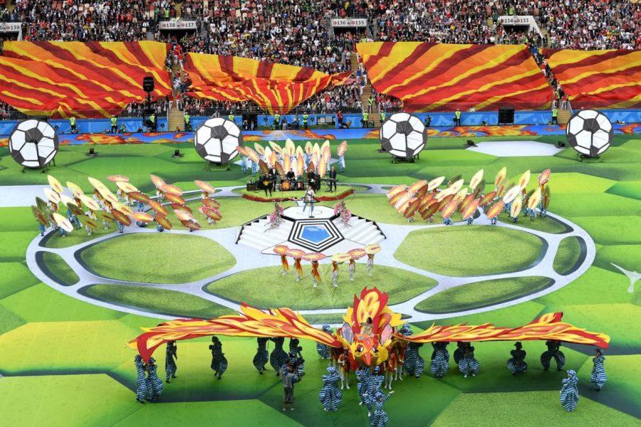 Cerimonia d'apertura del Mondiale 2018
