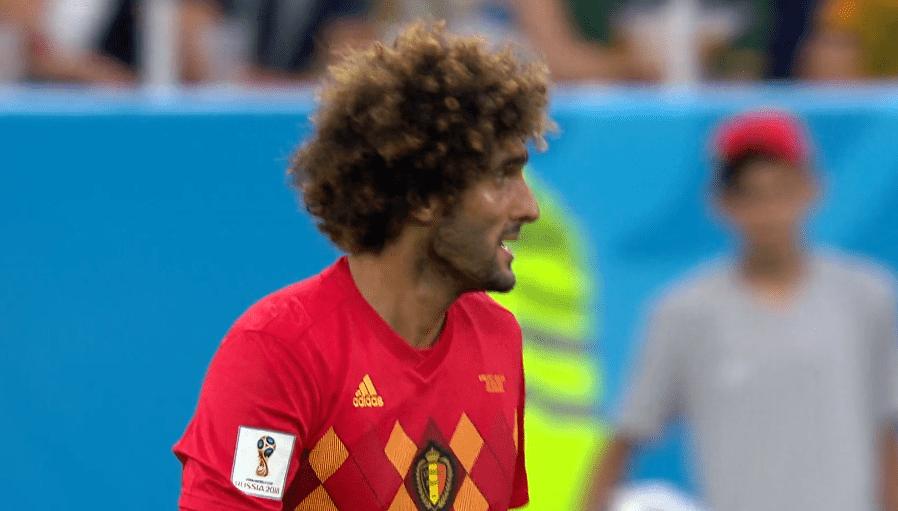 Fellaini, centrocampista del Belgio