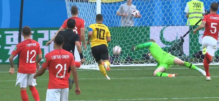 Il gol di Hazard in finale contro l'Inghilterra