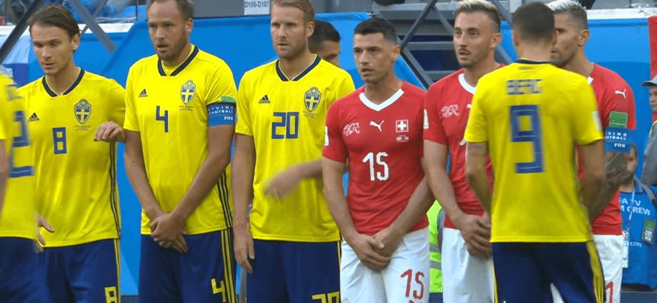 Svezia e Svizzera in barriera